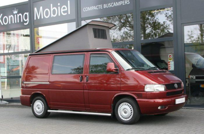 Volkswagen T4 2.5 TDI Aut. Hefdakcamper – 5 Zitter – Groot bed – 2001